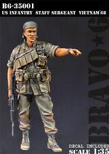 BRAVO-6 35001 U.S. Infantry Staff Sergeant, Vietnam '68 1/35 RESIN FIG.