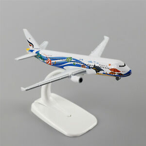 16cm Airbus320 Airlines A-320 Bangkok Air Airlines Aircraft Plane Diecast Model