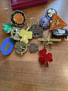 Vintage Brownie and Girl Guide Badges