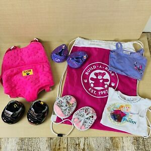 BUILD A BEAR ACCESSORIES SKECHERS HELLO KITTY SHOES BAG BABY CARRIER FROZEN TOP