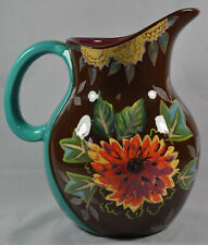 TRACY PORTER Vivre Collection Floral Pitcher