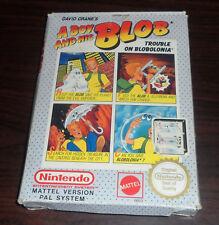 Nintendo NES. A Boy and his Blob. CIB (PAL AUS/IT/UK)