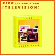 Block B Zico-[Television] 2nd Solo Mini Album CD+Plakat+Broschüre+Aufkleber+Toy+