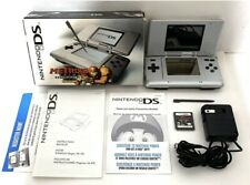 Platinum Silver Nintendo DS Metroid Hunters System Console Complete In Box Boxed