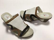 Women's Blondo Comfort Leather Slide Sandals 9W