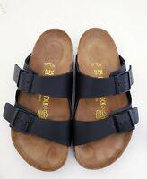 Birkenstock Arizona BLACK Unisex Sandals Birko-Flor NEW EU 35 REGULAR