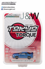 Greenlight Nissan Skyline GTR R34 2002 Blue 29880 1/64