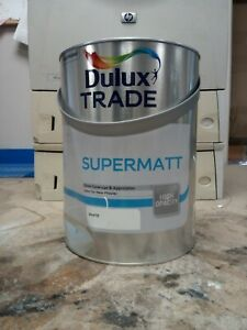 DULUX TRADE SUPERMATT WHITE 5L