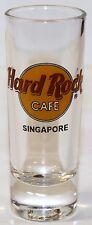 "Hard Rock Cafe - Singapore - Shot Glass Shooter 4 "" Tall"