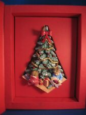 *Christmas Morning*Discontinue Christmas Classic Memories Limited Ed. 3D Ceramic