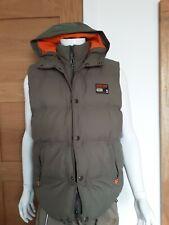 Mens Superdry Company Athletic Edition Gilet Bodywarmer Fleece Lined
