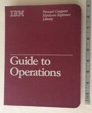 IBM Personal Computer PCjr Hardware Reference Library Guide to Operations, NOS