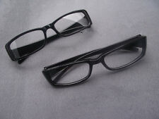 Japanese Persona 4 Narukami Yu Anime Cosplay Black Glasses with Lens