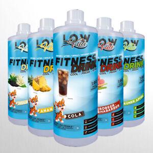 Mineraldrink Vital Drink Fitness Mineral Getränk 1000ml Konzentrat Sirup LowVita
