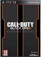 Call of Duty Black Ops 2 (II) Hardened Edition PS3 PlayStation 3 PAL BRAND NEW
