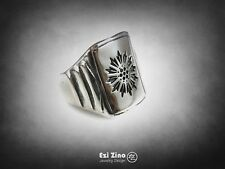 The Great Gatsby Leonardo DiCaprio Signet Ring Sterling Silver 925 By EZI ZINO