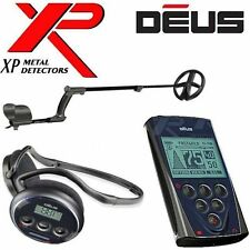 "XP DEUS WIRELESS Metal Detector With REMOTE + WS4 HEADPHONES + 11"" DD COIL"