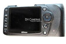Nikon D90 Rear cover Rubber, LCD screen, LCD flex cable, SD card door, Window