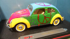VOLKSWAGEN COCCINELLE 1951 Peace And Love 1/18 MAISTO 35820 voiture miniatur