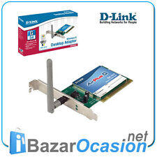 Tarjeta Red PCI Wifi Wireless 54Mb D-LINK DWL-G510 low profile perfil bajo