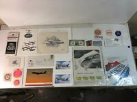 Lot of Vintage Airline Propaganda and Swag from United Airlines