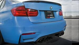 ready to Paint BMW F30 F80 PERFORMANCE STYLE  BOOT SPOILER 100% OEM FIT