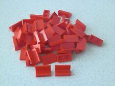 Lego 4865# 50x Paneele 1x2x1 Rot 8144 6542