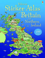 Usborne Sticker Atlas of Britain and Northern Ireland by Fiona Patchett, Stephanie Turnbull (Paperback, 2012)