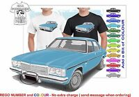 CLASSIC 77-80 HZ HOLDEN PREMIER SED ILLUSTRATED T-SHIRT MUSCLE RETRO SPORTS