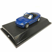 1:43 Scale Mazda MX-5 Convertible Model Car Diecast Vehicle Collection Blue Gift