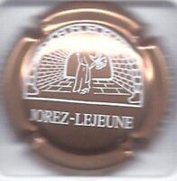 Capsule de champagne JOREZ LEJEUNE cuivre pale fond blanc new