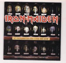 Iron Maiden: 17 numbers of the beast RARE U.S. PROMO CD 2002