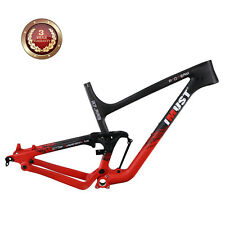 IMUST Carbon 27.5+ Full Suspension MTB Frame XP07 M Size  BSA Rear 12x148mm