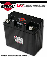 Shorai LFX Lithium ATV Battery Polaris Sportsman 800 05-06-07-08-09-10-11-12-13