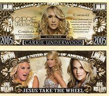 Carrie Underwood Million Dollar Novelty Money