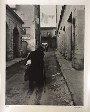 RARE !! MICHA BAR-AM  YOM KIPPUR EVE , MEA SHEARIM 1967 H/S Photograph W/ Folio