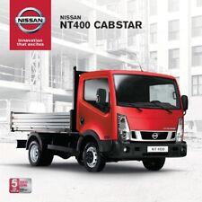Nissan NT 400 Cabstar 11 / 2015 catalogue brochure Slovakia Slovaquie