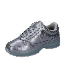 scarpe bambina LUMBERJACK 35 EU sneakers argento pelle BR283-35
