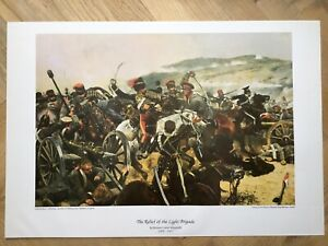 Art Print 'Charge Of The Light Brigade' By Richard Caton Woodville