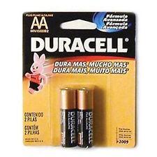 DURACELL Batterie AA alcaline 1.5v - 2 Confezione