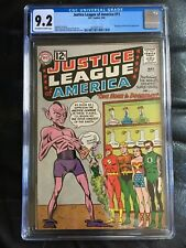 JUSTICE LEAGUE OF AMERICA #11 CGC NM- 9.2; OW-W; One Hour to Doomsday!