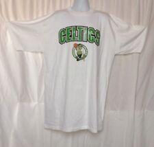 Official NBA St. Mark Boston Celtic White T-shirt w Primary Logo 4XL Unisex NEW