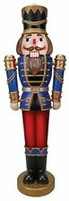 * Nutcracker Lifesize Prop Led Blow Mold Sound Outdoor Soldier Christmas 68 In