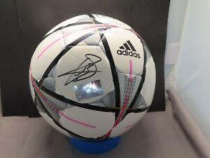 Gareth Bale Signed Adidas UEFA Champions League Soccer Ball Real Madrid JSA COA
