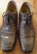 Stacy Adams Mens Leather Oxford Gray SNAKE SKIN Dress Shoe Size 7M