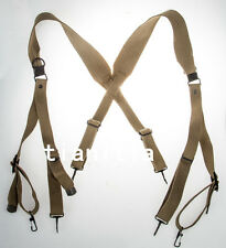 WW2 REPRODUCTION US ARMY M36 X SUSPENDERS STRAP WEBBING BELT