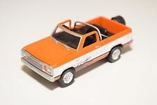 GREENLIGHT DODGE RAMCHARGER PICK UP 1978 ORANGE WHITE NEAR MINT CONDITION