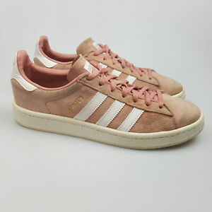Women's ADIDAS 'Campus' Sz 8 US Shoes Pink VGCon Leather   3+ Extra 10% Off