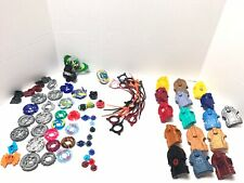 Tomy Beyblade Metal And Plastic Fight Used Lot Beyblade Pull Cords Launchers