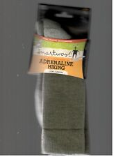 Smartwool Adrenaline Wool Hiking Socks Men's XL Extra Large Larch Green New